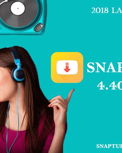Download SnapTube APK v4.40 (Latest Version)